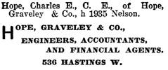 Henderson's BC Gazetteer and Directory, 1901, page 700.