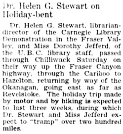 The Chilliwack Progress, May 12, 1932, page 2, column 2.