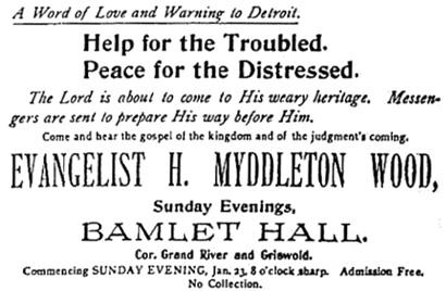 Detroit Free Press, January 23, 1898, page 17, columns 6-7.