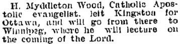 Manitoba Morning Free Press (Winnipeg, Manitoba), February 26, 1895, page 8, column 1.