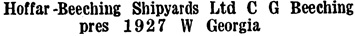 Wrigley's British Columbia Directory, 1927, page 998.