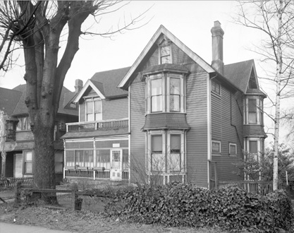 R.W. Gordon residence, 1259 West Georgia Street, February 16, 1948, Vancouver City Archives, Bu N212; http://searcharchives.vancouver.ca/r-w-gordon-residence-1259-west-georgia-street.