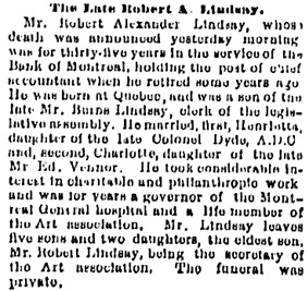 Montreal Gazette, October 22, 1891, page 3, column 3; https://news.google.com/newspapers?id=qKwtAAAAIBAJ&sjid=DX4FAAAAIBAJ&pg=7006%2C1362895.