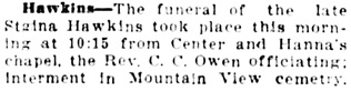 Vancouver Daily World, February 17, 1913, page 22, column 3.