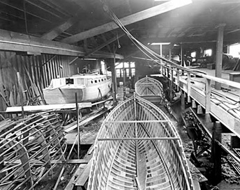 Yachts under construction at Hoffar-Beeching Shipyards Ltd., February 10, 1927, Vancouver Public Library, VPL Accession Number: 10767; http://www3.vpl.ca/spePhotos/LeonardFrankCollection/02DisplayJPGs/19/10767.jpg.