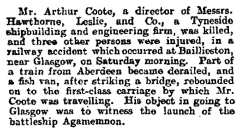 The Guardian (London, England); June 25, 1906, page 6, column 1.
