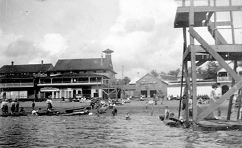 English Bay Beach, about 1901, Vancouver City Archives, Be P97.2; http://searcharchives.vancouver.ca/english-bay-beach-12. [Simpson's Boat House is the small building in the centre.]