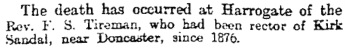 Sheffield Evening Telegraph (Sheffield, England), Wednesday, May 29, 1901, Issue 4350, page 3.