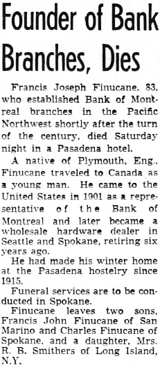 The Los Angeles Times, December 12, 1949, page 52, column 6.