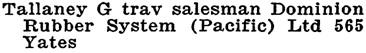 Wrigley's British Columbia Directory, 1919, page 1157 (Victoria).