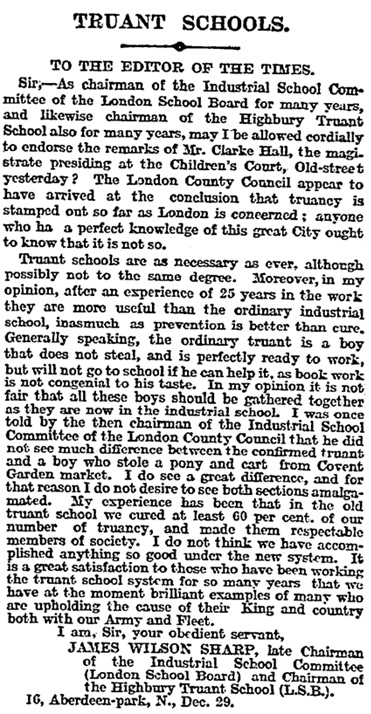 The Times (London, England), December 31, 1915, page 3.