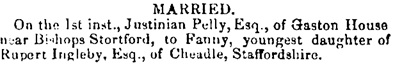 Bury and Norwich Post (Bury Saint Edmunds, England), Wednesday, May 16, 1849, page 3.