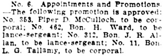 Vancouver Daily World, May 18, 1912, page 24, column 2.