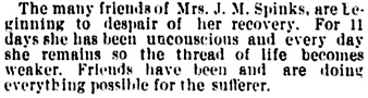 Vancouver Daily World, August 10, 1892, page 8, column 2.
