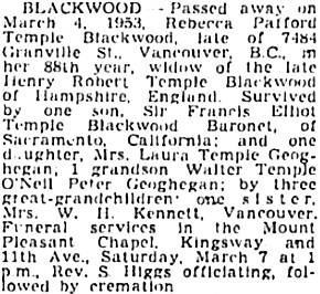 Vancouver Sun, March 6, 1953, page 35, column 2; https://news.google.com/newspapers?id=mmNlAAAAIBAJ&sjid=7okNAAAAIBAJ&pg=5125%2C885372.