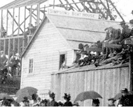 Simpson's Boat House, about 1900; detail from English Bay Beach, Vancouver City Archives, Be P9; http://searcharchives.vancouver.ca/english-bay-beach-5.