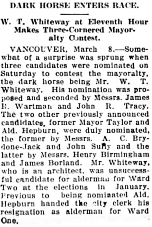 The Chilliwack Progress, March 11, 1915, page 2, column 1.