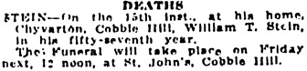 Victoria Daily Colonist, February 19, 1924, page 14, column 1; http://archive.org/stream/dailycolonist0124uvic_41#page/n13/mode/1up.