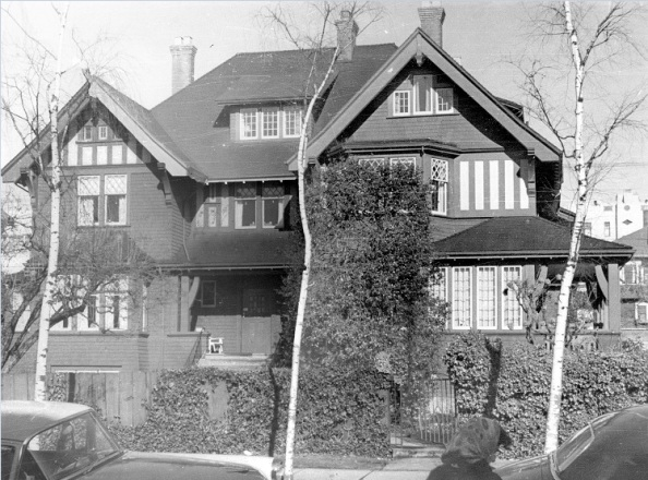 1945 Barclay Street – Vancouver City Archives Bu P508-105