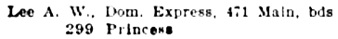 Henderson's City of Winnipeg Directory, 1896, page 282; http://peel.library.ualberta.ca/bibliography/921.2.7/220.html.