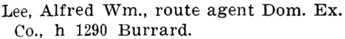 Henderson's BC Gazetteer and Directory, 1903, page 729.