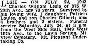 Vancouver Sun, July 23, 1943, page 18, column 1; https://news.google.com/newspapers?id=_SxmAAAAIBAJ&sjid=XIkNAAAAIBAJ&pg=3297%2C2650822 [also in Vancouver Province, July 23, 1943, page 19].