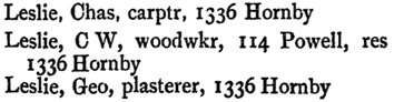 Vancouver City Directory, 1896, page 148.