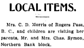 Mt. Pleasant Advocate, October 12, 1907, page 8, column 2; https://open.library.ubc.ca/collections/bcnewspapers/mpadvocate/items/1.0311578#p7z-5r0f:
