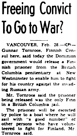 The Ottawa Journal, February 29, 1940, page 13, column 7.