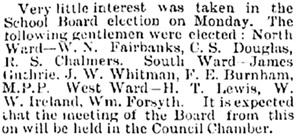 Manitoba Free Press (Winnipeg), February 8, 1883, page 1.