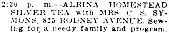 The Oregon Daily Journal (Portland, Oregon), November 9, 1915, page 10, column 6.