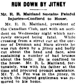Vancouver Daily World, December 20, 1917, page 8, column 6.