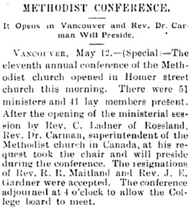 Victoria Daily Colonist, May 13, 1897, page 8, column 3; http://archive.org/stream/dailycolonist18970513uvic/18970513#page/n7/mode/1up.