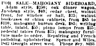 Vancouver Daily World, April 17, 1920, page 26, column 4.