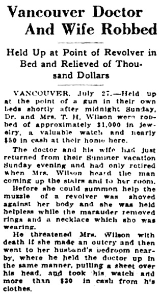 Victoria Daily Colonist, July 28, 1925, page 2, column 4; http://archive.org/stream/dailycolonist0725uvic_23#page/n1/mode/1up.