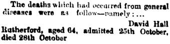 Brisbane Hospital Committee, The Brisbane Courier (Queensland, Australia), November 1, 1893, page 5, column 7; https://trove.nla.gov.au/newspaper/article/3568389.