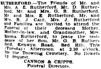 The Courier-Mail (Brisbane, Queensland, Australia), March 26, 1935, page 1, column 1; https://trove.nla.gov.au/newspaper/article/35885961.