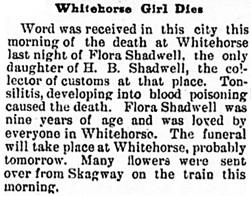 The Daily Alaskan (Skagway, Alaska), October 13, 1904, page 1, column 6; https://chroniclingamerica.loc.gov/lccn/sn82014189/1904-10-13/ed-1/seq-1/.