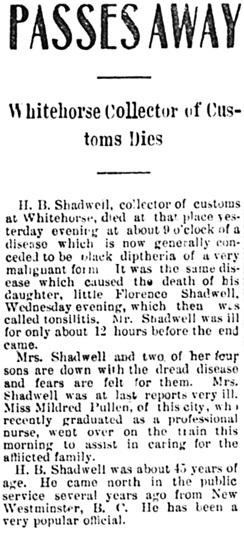 The Daily Alaskan (Skagway, Alaska), October 15, 1904, page 1, column 4; https://chroniclingamerica.loc.gov/lccn/sn82014189/1904-10-15/ed-1/seq-1/.