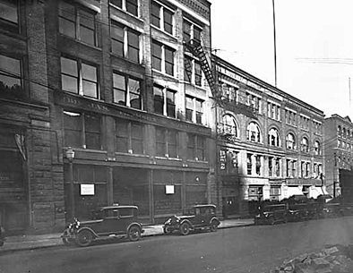 James Thomson and Sons, 353 Water Street, 1927; Vancouver Public Library, VPL Accession Number: 12734; Photographer: Frank, Leonard; https://www3.vpl.ca/spePhotos/LeonardFrankCollection/02DisplayJPGs/40/12734.jpg.