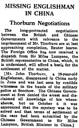 The Guardian (London, England), October 29, 1931, page 15, column 6.