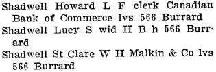 Henderson's City of Vancouver Directory, 1908, page 924.