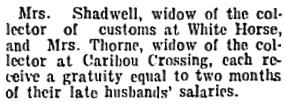 Nanaimo Daily News, May 18, 1905, page 1, column 5.