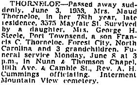 Vancouver Province, June 6, 1953, page 35; Vancouver Sun, June 6, 1953, page 38, column 5; https://news.google.com/newspapers?id=xTxlAAAAIBAJ&sjid=rokNAAAAIBAJ&pg=2169%2C1199559.