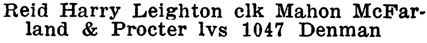 Henderson's City of Vancouver and North Vancouver Directory, 1910, Part 2, page 1070.