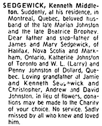 The Gazette (Montreal); April 18, 1983, page D-10 [image 42 of 44], column 9.