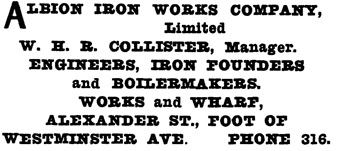 Henderson's City of Vancouver Directory, 1908, page 368.