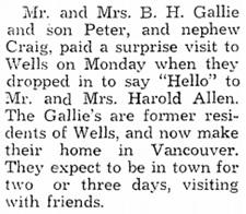 Cariboo Observer, June 23, 1960, Third Section, Wells-Barkerville News, page 1, column 5; http://www.quesnelmuseum.ca/COA/1960/19600623_Cariboo%20Observer-3.pdf.