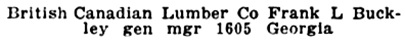 Henderson's Greater Vancouver Directory, 1912, Part 1, page 591 [edited image].