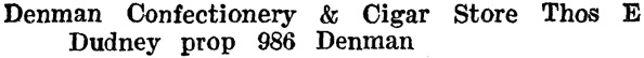 Henderson's Vancouver Directory, 1920, page 528.